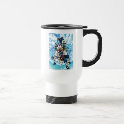 Kingdom Hearts II | Game Box Art Travel Mug