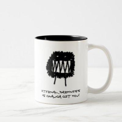 Kingdom of Loathing -Clan - Eternal_Darkness Two-Tone Coffee Mug