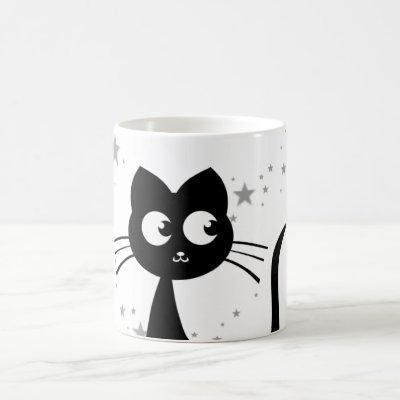 Kitty Kuro White Magic Mug