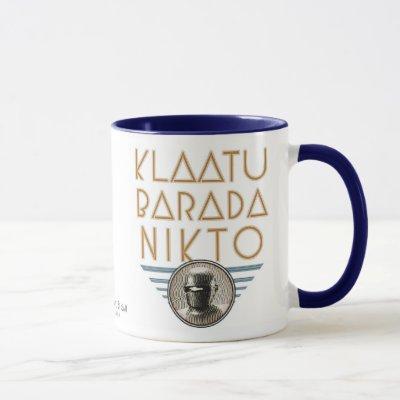 Klaatu Barada Nikto Mug