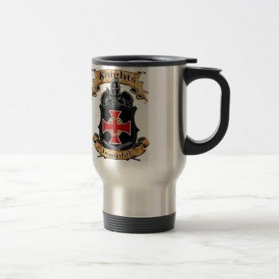 Knights Templar Travel Mug