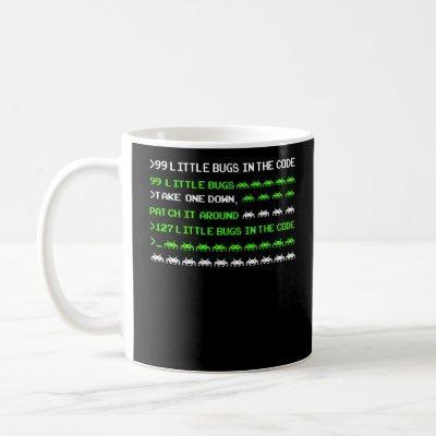 Know Your Bugs Programmer Coding Coffee Mug