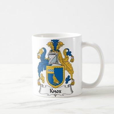 Knox Family Crest Coffee Mug