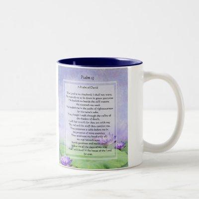 KRW The Lord is My Shepherd Psalm 23 Coffee Mug
