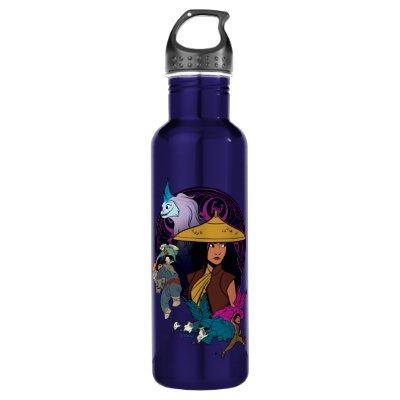 Kumandran Group Icon Badge Stainless Steel Water Bottle