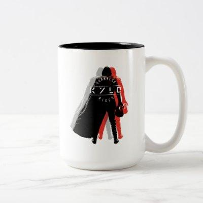Kylo Ren | Darkness Rises Two-Tone Coffee Mug