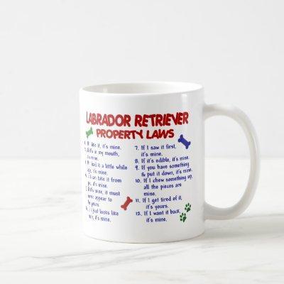 LABRADOR RETRIEVER PL2 COFFEE MUG