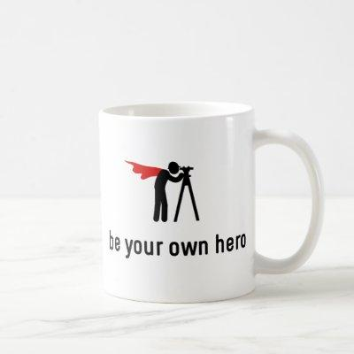 Land Surveying Hero Coffee Mug