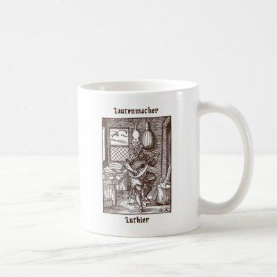 Lautenmacher - Luthier Coffee Mug
