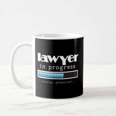 Lawyer In Progress Funny Law Student Gift Mug