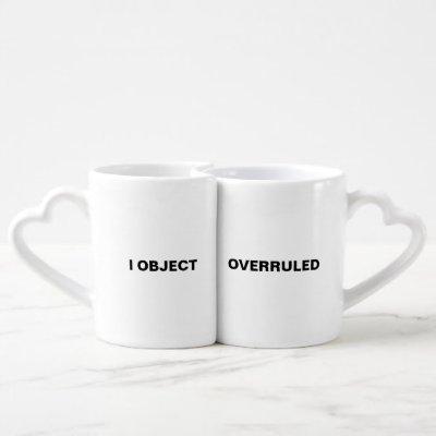 Lawyer Love Nesting Mugs