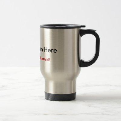Lead on the go! travel mug