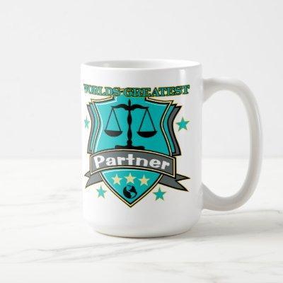 Legal World's Greatest Partner Coffee Mug