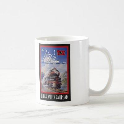 Lehigh Valley Railroad Mug