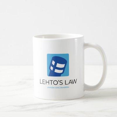Lehto's Law Logo Coffee Mug