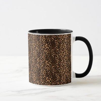 Leopard Skin Animal Print Pattern Mug