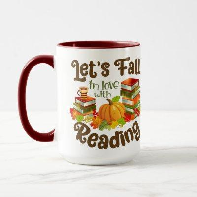 Let's Fall in Love With Reading Mug