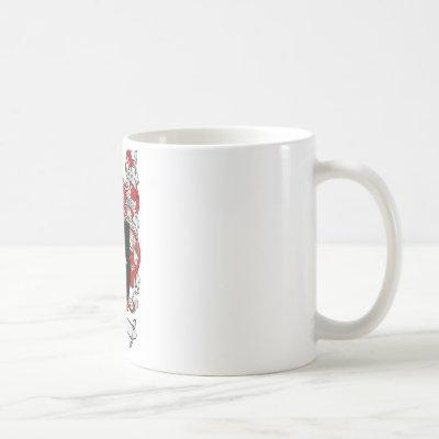 Lewis Family Crest - Lewis Coat of Arms Coffee Mug