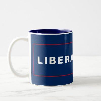 Liberal Tears - Two-Tone Coffee Mug