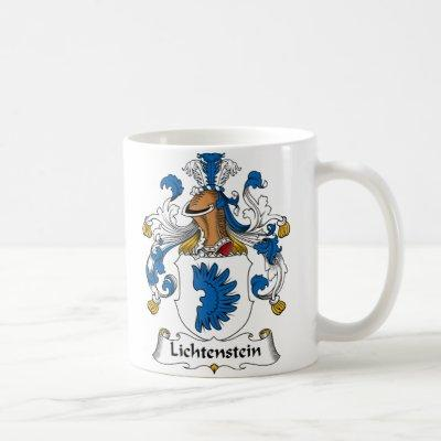 Lichtenstein Family Crest Coffee Mug