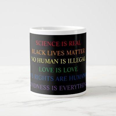 Life Facts jumbo mug