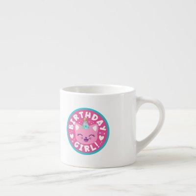 Like Nastya   Birthday Girl! Espresso Cup