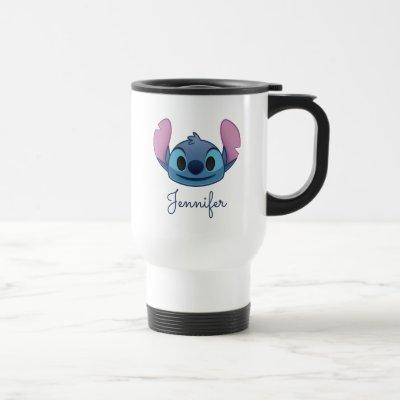 Lilo & Stitch | Stitch Emoji Travel Mug