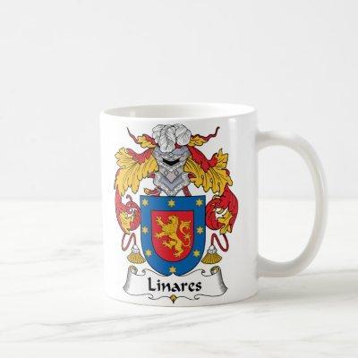 Linares Family Crest Coffee Mug