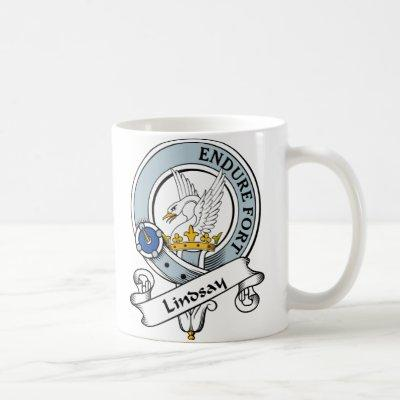 Lindsay Clan Badge Coffee Mug