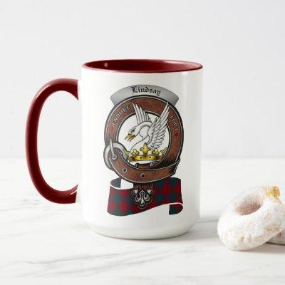 Lindsay Clan Badge Combo 15oz Mug
