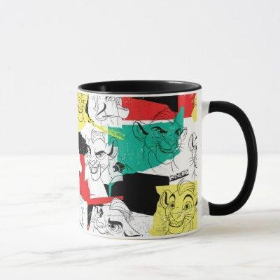 Lion Guard | Kion Expressions Pattern Mug