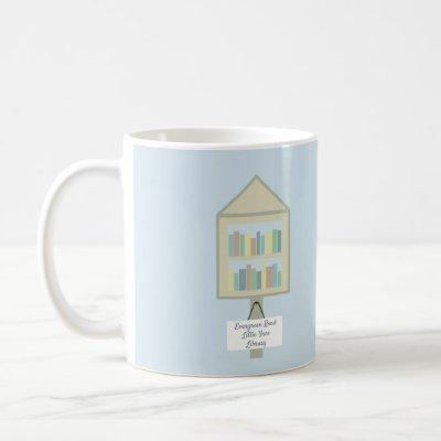 Little Free Library Personalized Coffee Mug