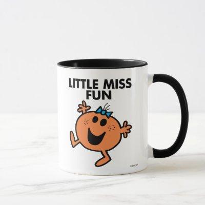 Little Miss Fun Waving Joyously Mug