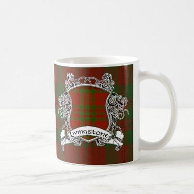 Livingstone Tartan Shield Coffee Mug