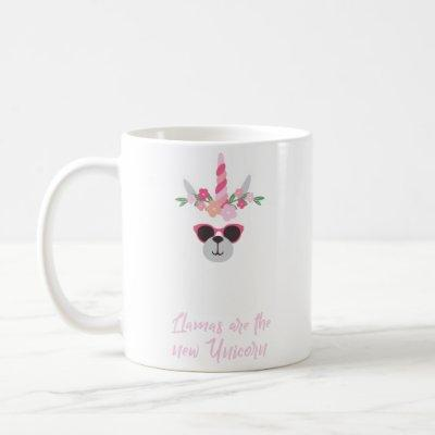Llamas Are The New Unicorn Gift For Alpaca Lover Coffee Mug
