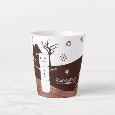 Logo'd Marshmallow Latte Mug