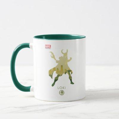 Loki Heroic Silhouette Mug