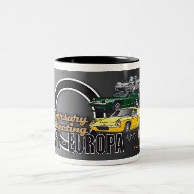 Lotus Europe-Europa 50th anniversary Mug
