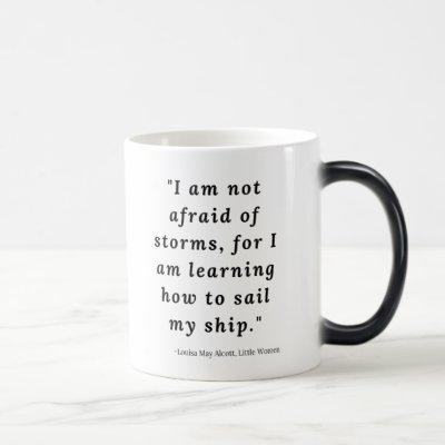 Louisa May Alcott, Little Women Quote #2 Magic Mug
