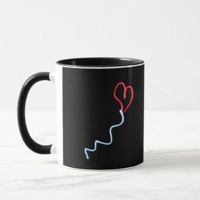 Love Heart Balloon Mug