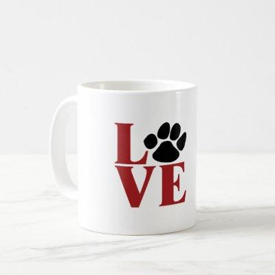 Love Paw Coffee Mug