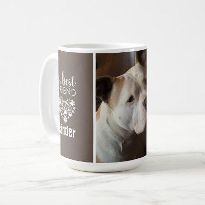 Love Pet Dog Photo Personalized Coffee Mug
