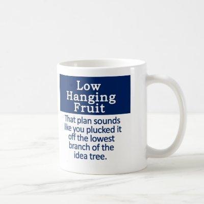 Low Hanging Fruit Coffee Mug