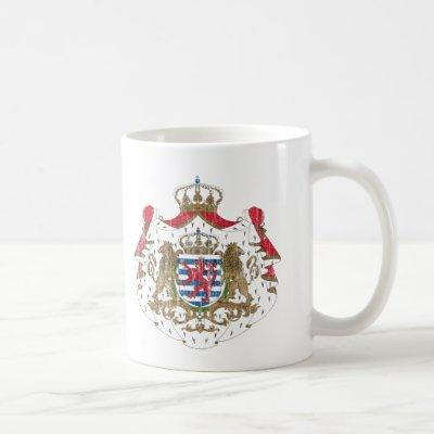 Luxembourg Coat Of Arms Coffee Mug