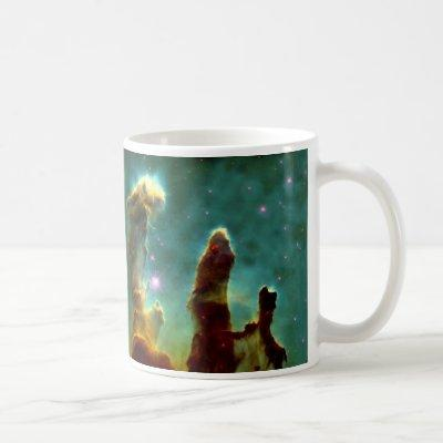 M16 Eagle Nebula or Pillars of Creation Coffee Mug