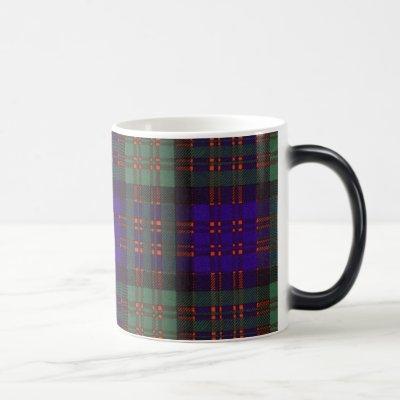 Macdonald Clan Plaid Scottish tartan Magic Mug