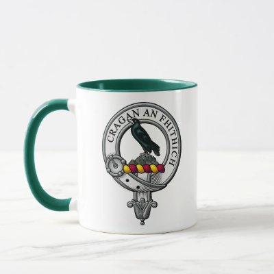 MacDonnell Crest Badge Mug
