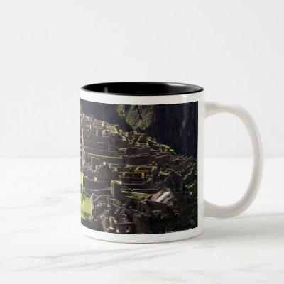 Machu Picchu, Peru Two-Tone Coffee Mug