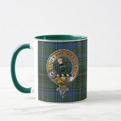MacInnes Tartan & Badge Mug