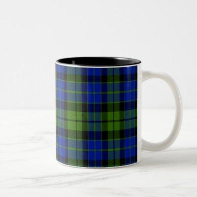 Mackay Scottish Tartan Two-Tone Coffee Mug